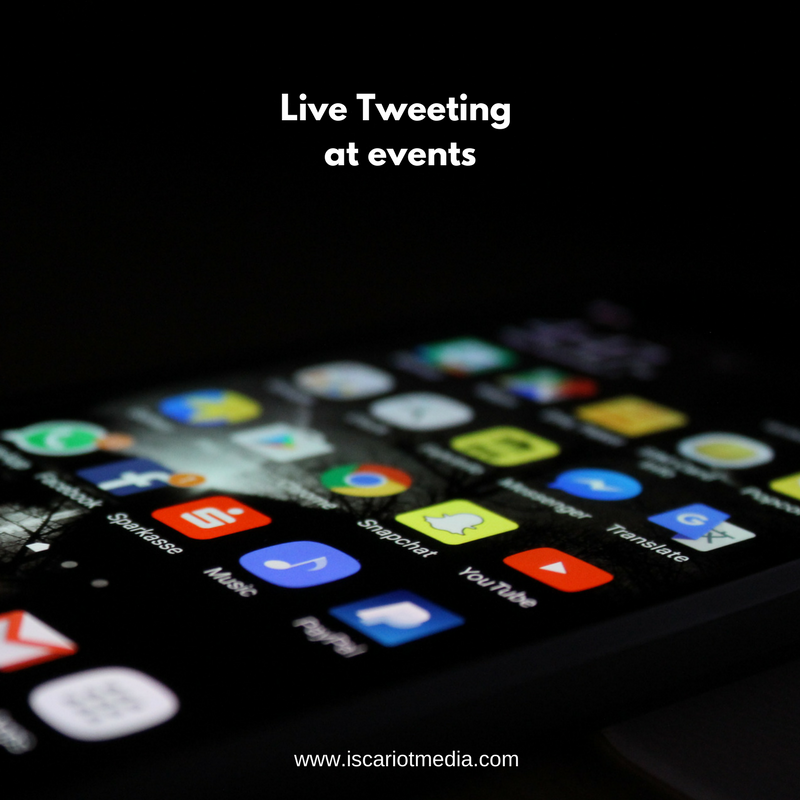 Use Live Tweeting to Amplify Your Event