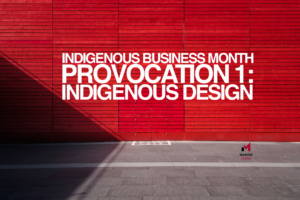 Iscariot Media's Provocation Series with Vernon Ah Kee for Indigenous Business Month.