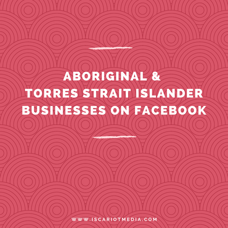 Facebook killed my Indigenous Business Interest Lists so now I'm using pages