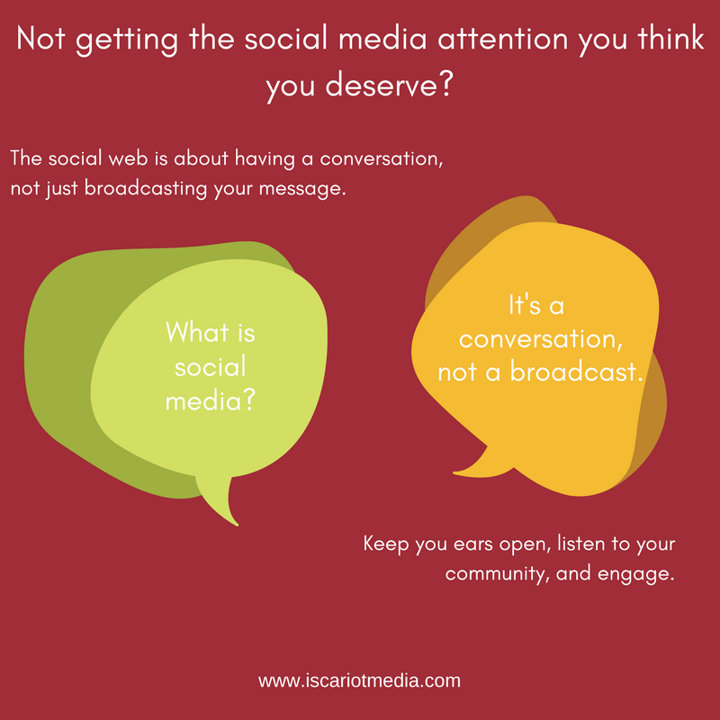 Are you getting the social media audience you think you deserve?