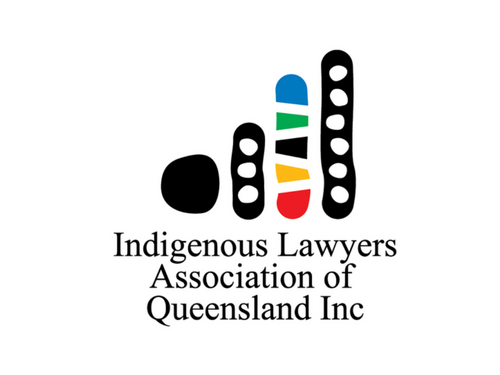 Indigenous Lawyers Association of Queensland logo designed by Iscariot Media.