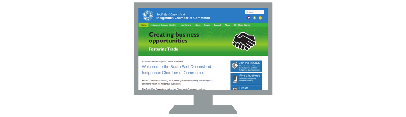 South East Queensland Indigenous Chamber of Commerce Website2