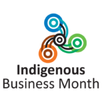Indigenous Business Month logo