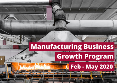 Manufacturing Business Growth Program (2020)